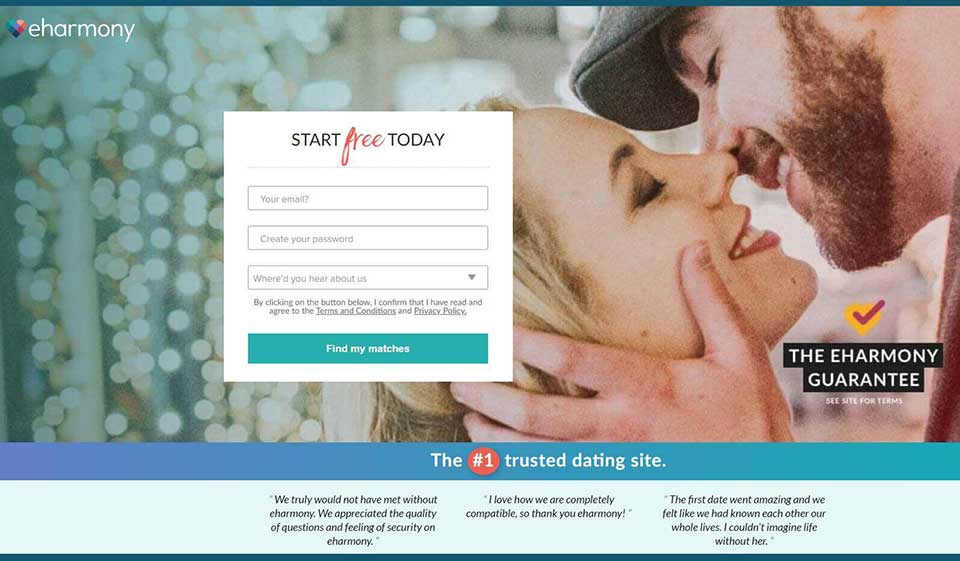 eHarmony Review: the Best Way to Find True Love, Excitement, and Hookups