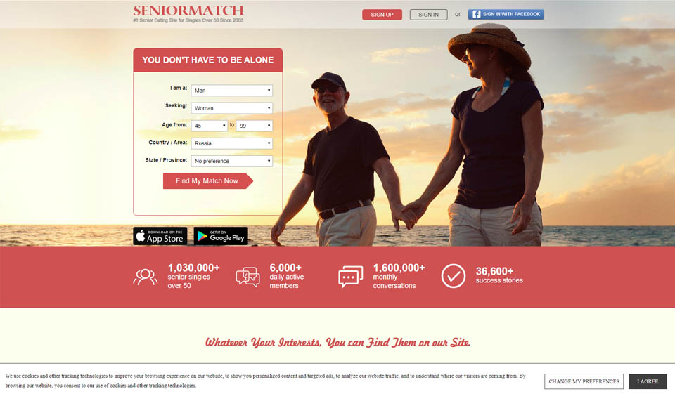 Senior Match Review: the Best Way to Find True Love, Excitement, and Hookups